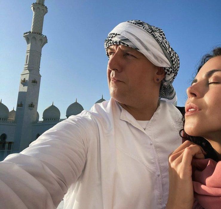 Східна казка: Настя Каменських і Потап відпочивають в Дубаї
