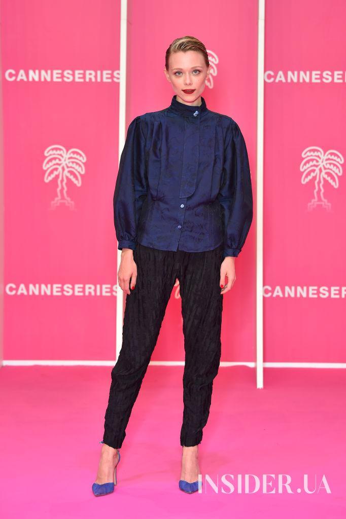 Образ дня: Иванна Сахно в Giorgio Armani на фестивале Canneseries 2021