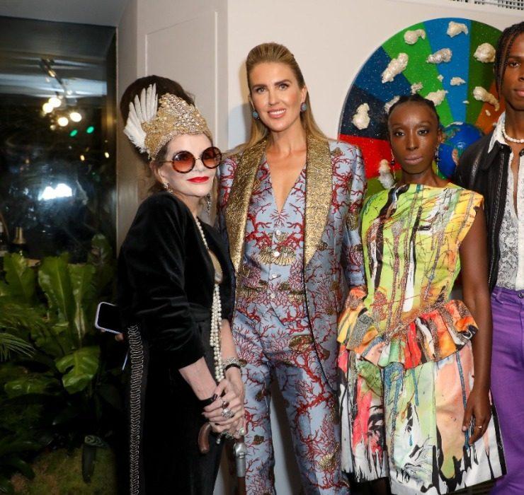 Этан Кох, Малькольм Модел и другие звездные гости на открытии выставки Натальи Капчук в Лондоне
